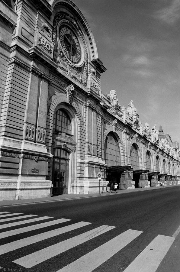Ancienne gare d'Orsay, devenue théâtre puis musée, Paris, 1993