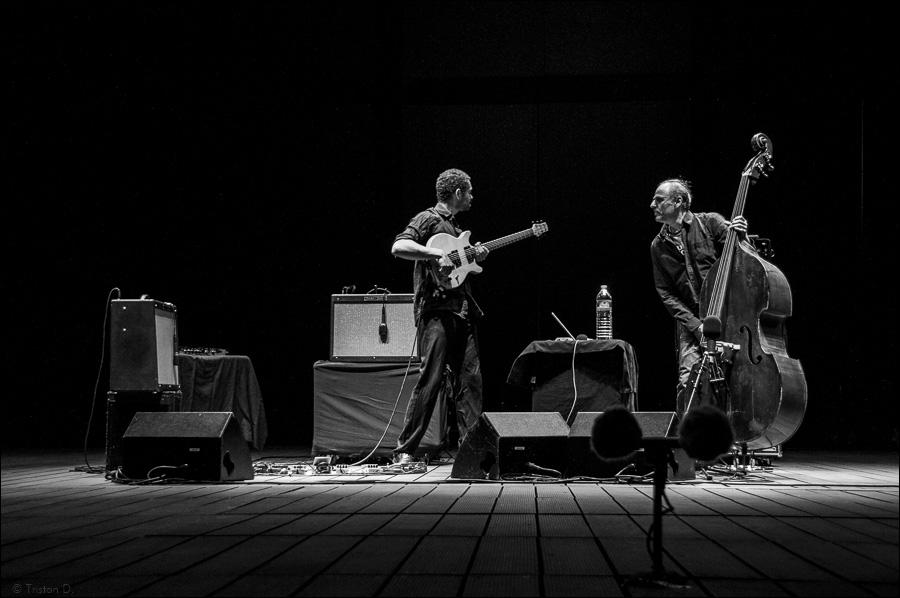 Manu Codjia et Michel Benita en concert à Montpellier, 2009