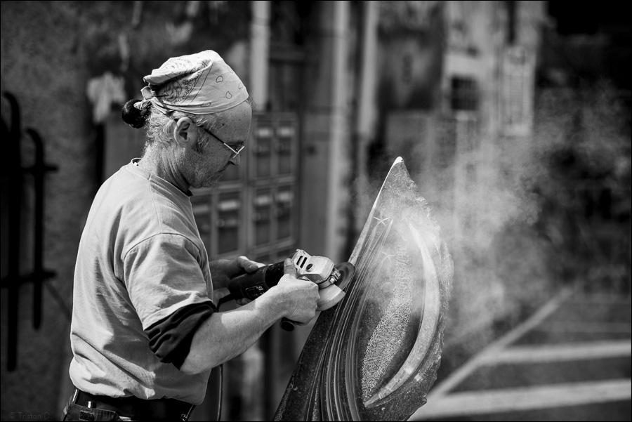 Chap / le sculpteur belge