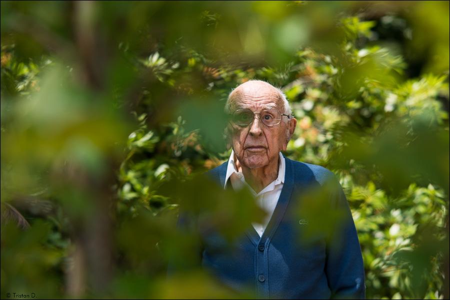 Un centenaire dans la nature