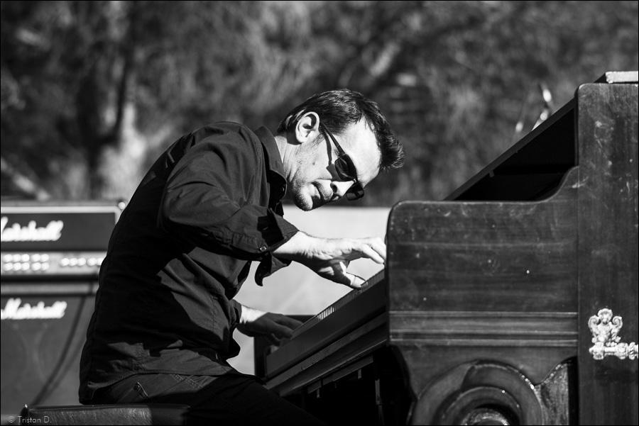 Piano sous les cyprès