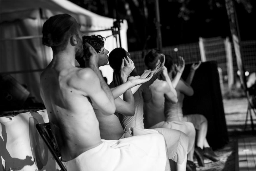 """De Soprano's"" d'Emio Greco et Pieter C.Scholten, danseurs d'ICKamsterdam, Montpellier Danse, Jacou, 2015"