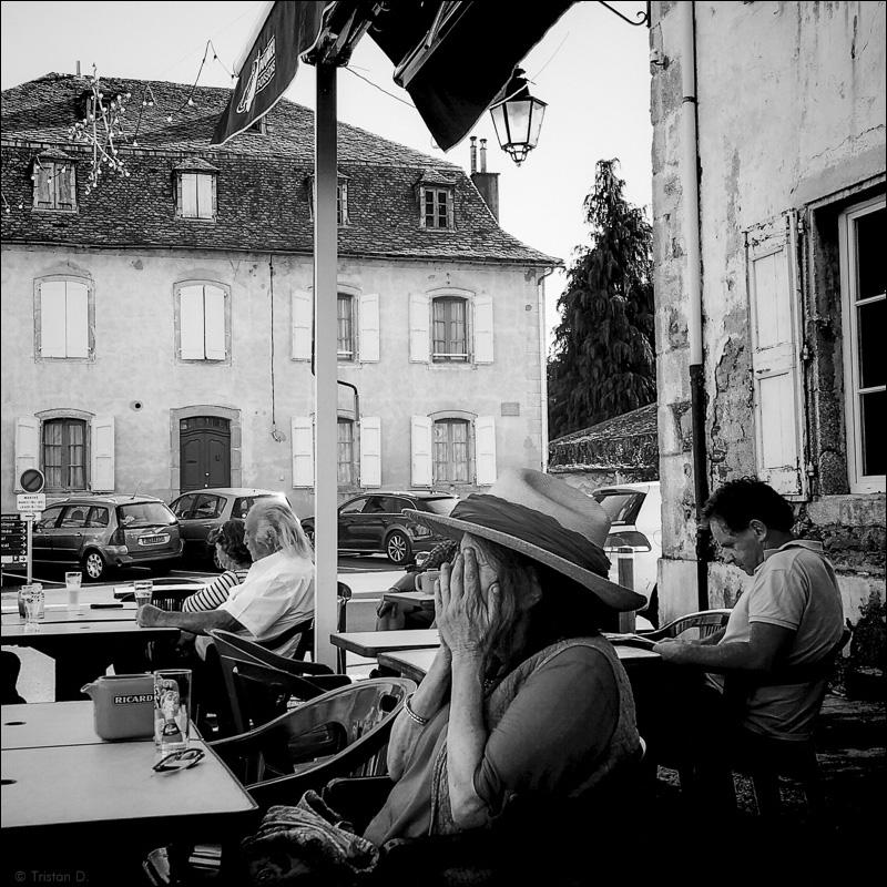 La terrasse du dernier bar
